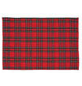 C and F Home Holiday Placemat Rectangular Arlington Plaid