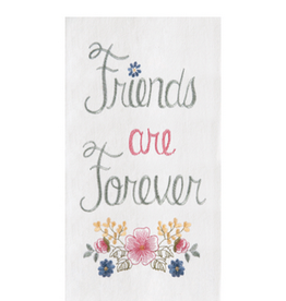 C and F Home Towel Friends Forever Flower, floursack