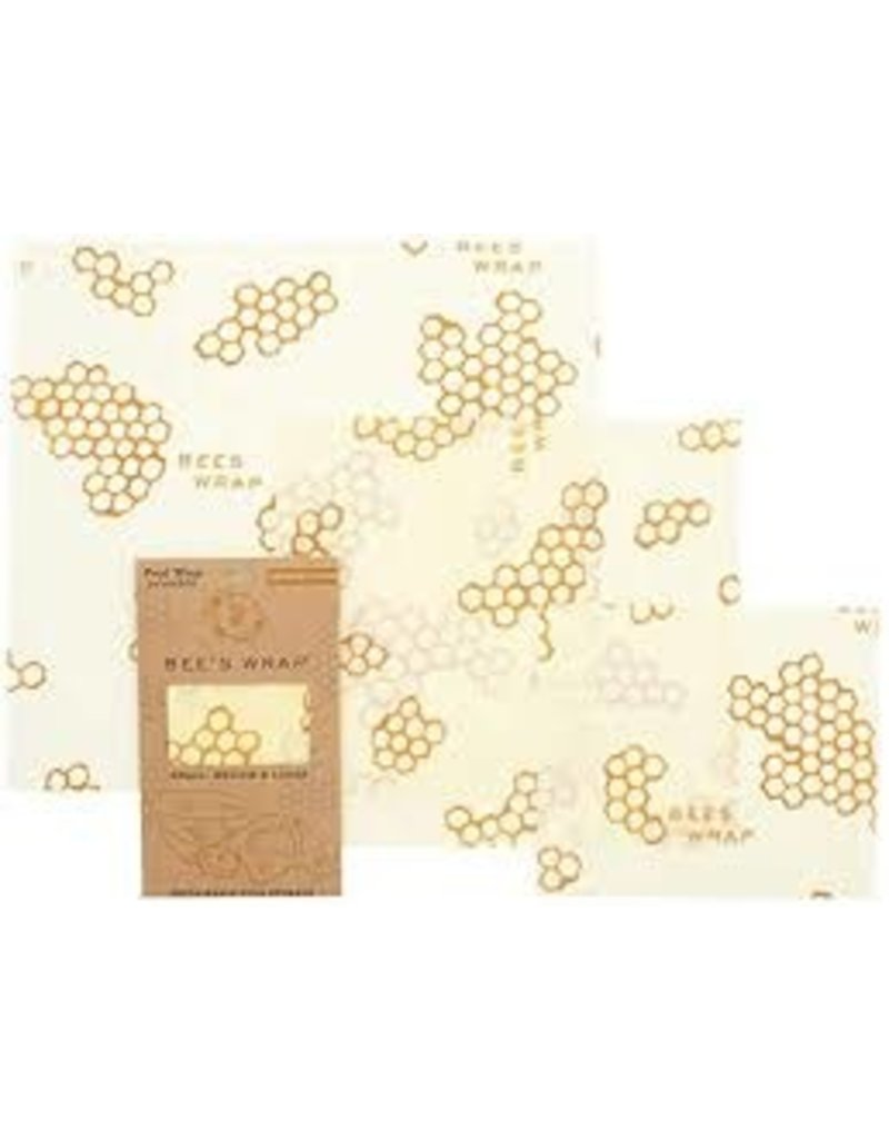 Bee's Wrap Bee's Wrap, 3 Pack (S, M, L)