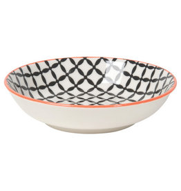Now Designs Stamped Dipper Bowl Black