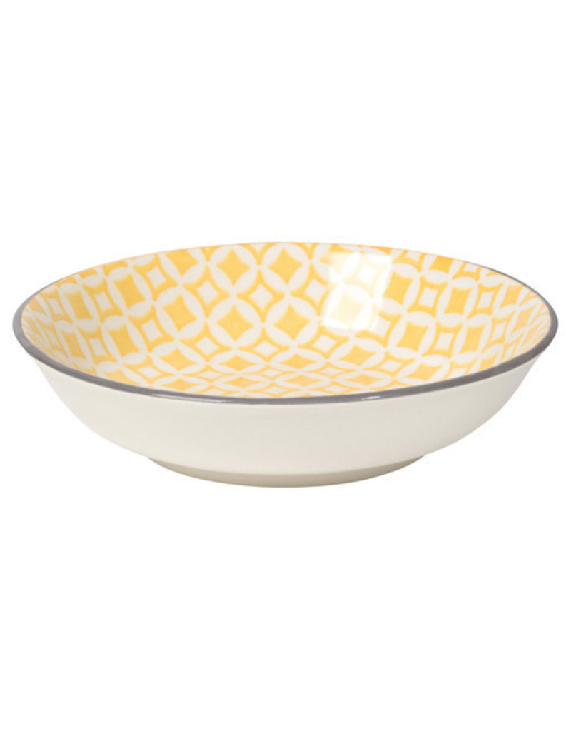 """Now Designs Stamped Dipper Bowl Yellow, 3.75"""""""
