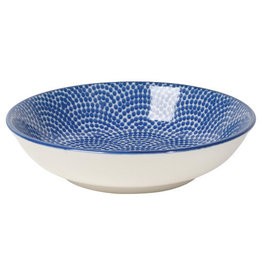 Now Designs Stamped Dipper Bowl Blue, 3.75""