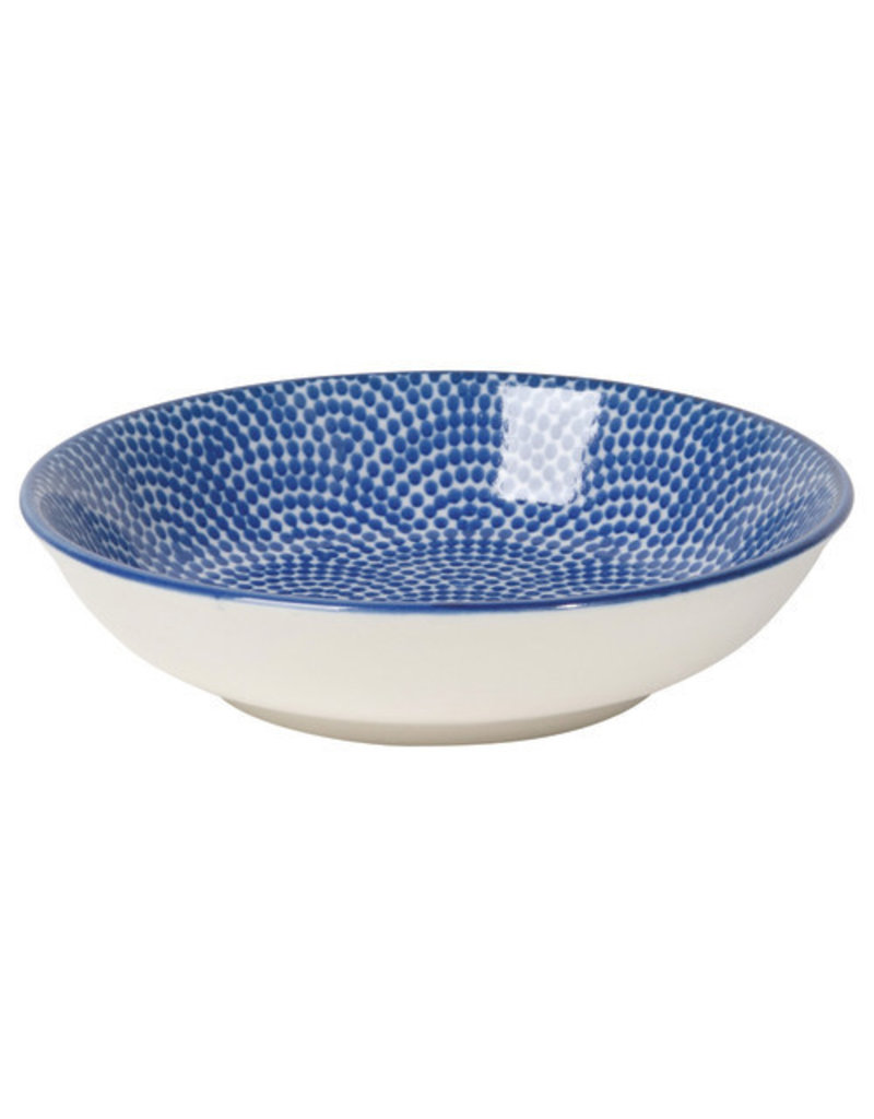 Now Designs Stamped Dipper Bowl Blue
