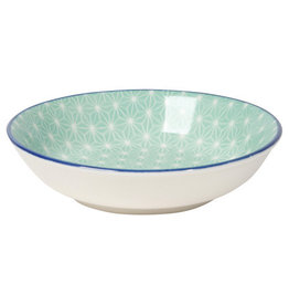 Now Designs Stamped Dipper Bowl Aqua