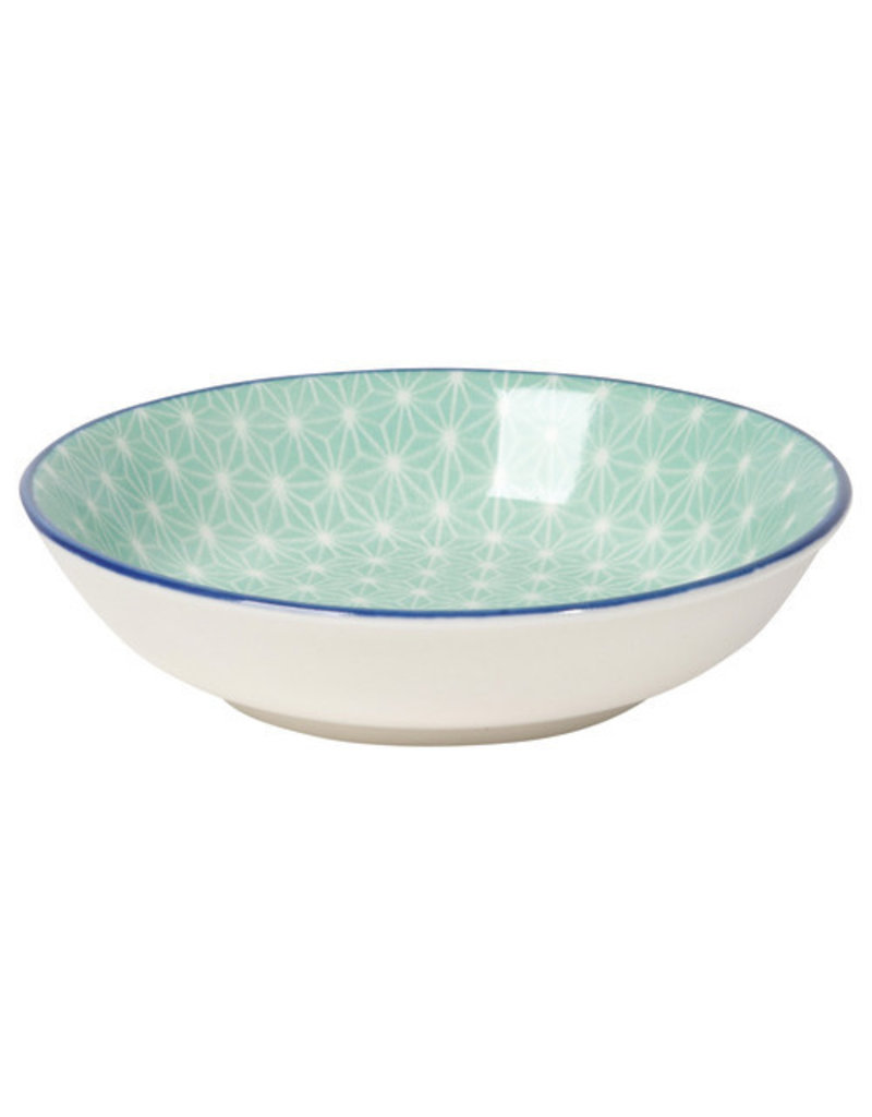 Now Designs Stamped Dipper Bowl Aqua, 3.75""