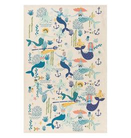 Now Designs Dish towel Mermaids Set of 2