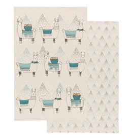 Now Designs Dish towels Llama Set of 2