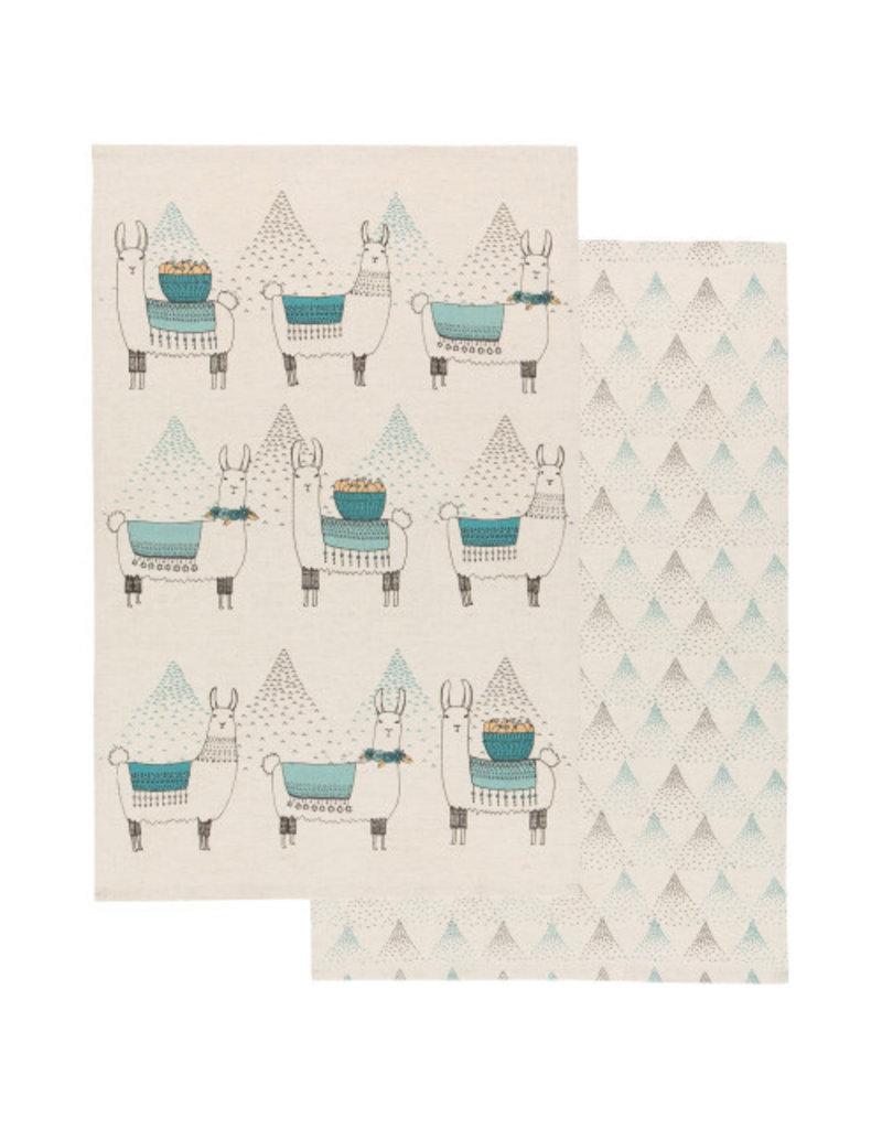 Now Designs Dish towels Llama Set of 2