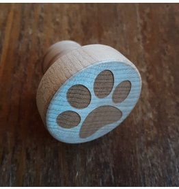 Tangico Wooden WineO Bottle Stopper-Paw