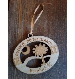Tangico Wooden Beaufort Ornament, custom
