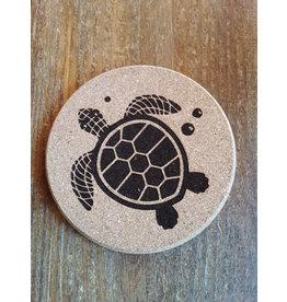 Tangico Cork Coaster Sea Turtle