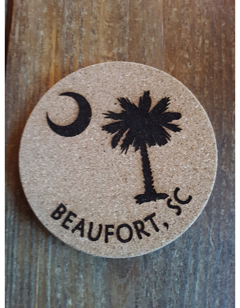 Tangico Cork Coaster Custom-Palmetto/Beaufort, SC