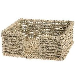 Boston International Cocktail Napkin Caddy, Seagrass
