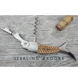 Sterling Brooke Corkscrew Wine Opener Bones