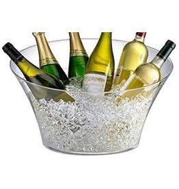 Prodyne Acrylic Oval 2+ Bottle Party Tub