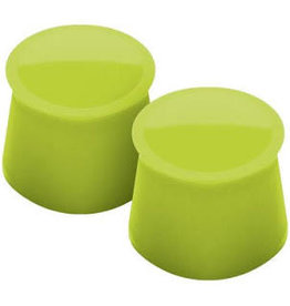 Tovolo Silicone Wine Caps Set of 2 green