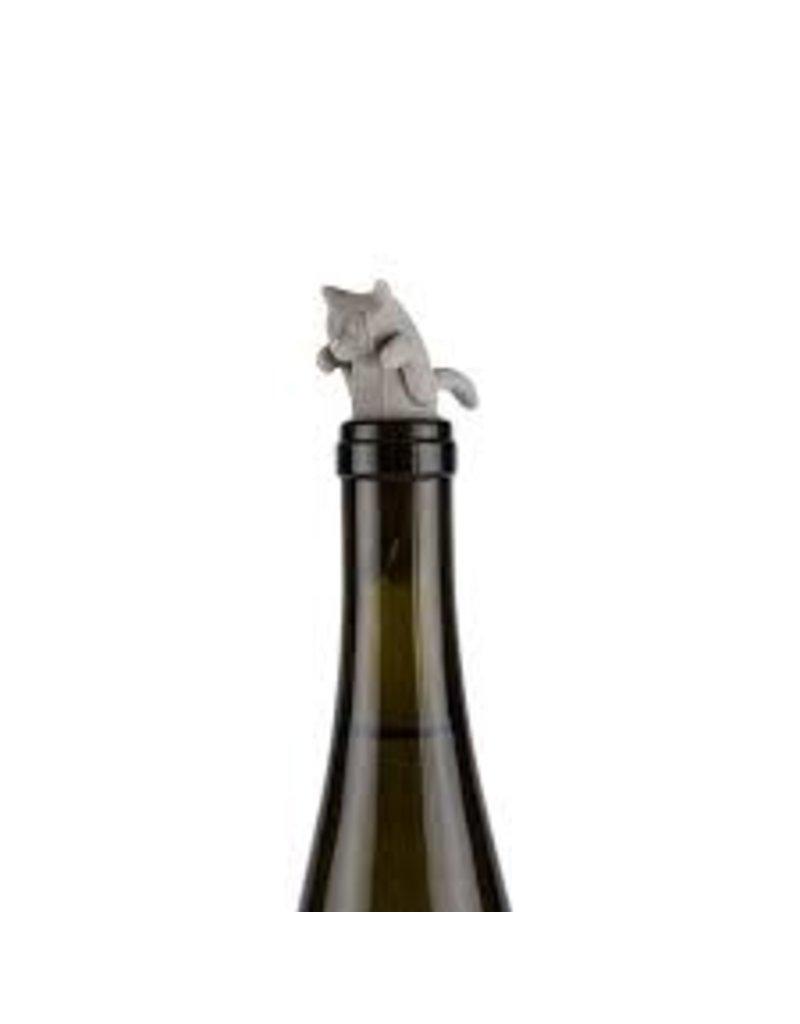 True Brands Cat Bottle Stopper
