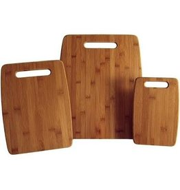 Totally Bamboo Bamboo Board Set, 3Pc