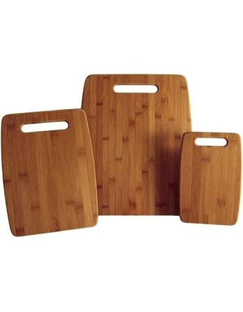 Totally Bamboo Bamboo Board Set, 3Pc