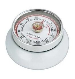 Frieling Kitchen Timer Retro, White