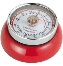 Frieling Kitchen Timer Retro, Red