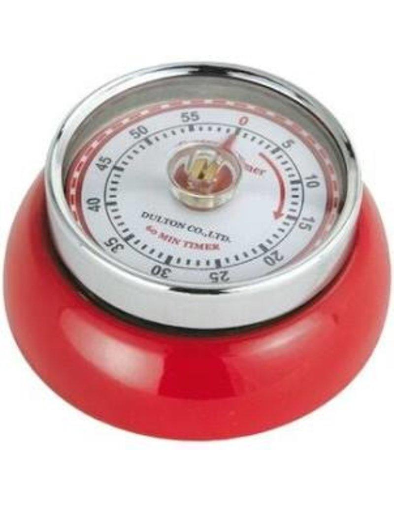 Frieling Kitchen Timer Retro, Red