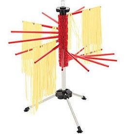 Foxrun Pasta Drying Rack, 18.5'', Red