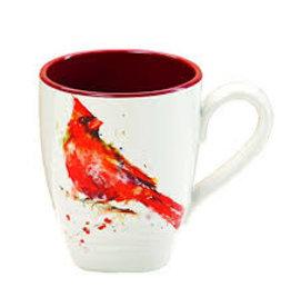 Demdaco Dean Crouser Mug - Cardinal  16oz