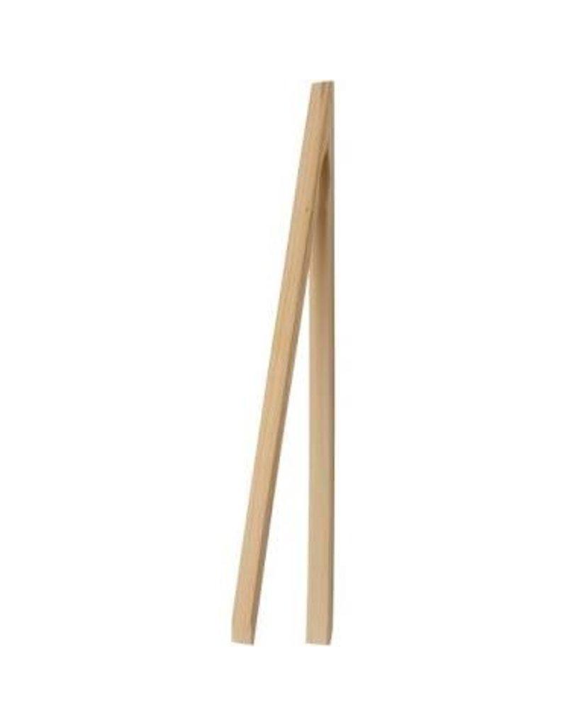 "Harold Imports Bamboo Toaster Tongs 12"""