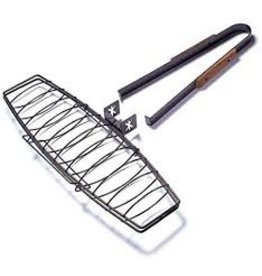 Charcoal Companion Ultimate Nonstick Fish Grilling Basket