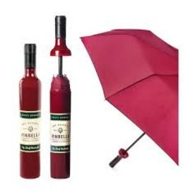 Vinrella Wine Bottle Umbrella - Burgundy Label
