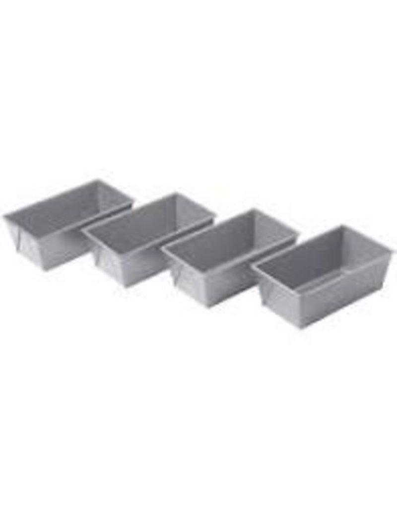 Chicago Metallic CM Mini Loaf Pans Set of 4 ciw