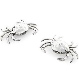 Mudpie Crab Salt and Pepper Shaker Set, Silver