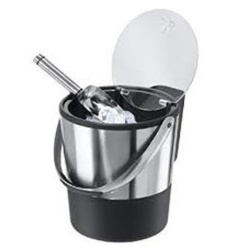 Oggi Double Wall Ice Bucket with Lid & Scoop