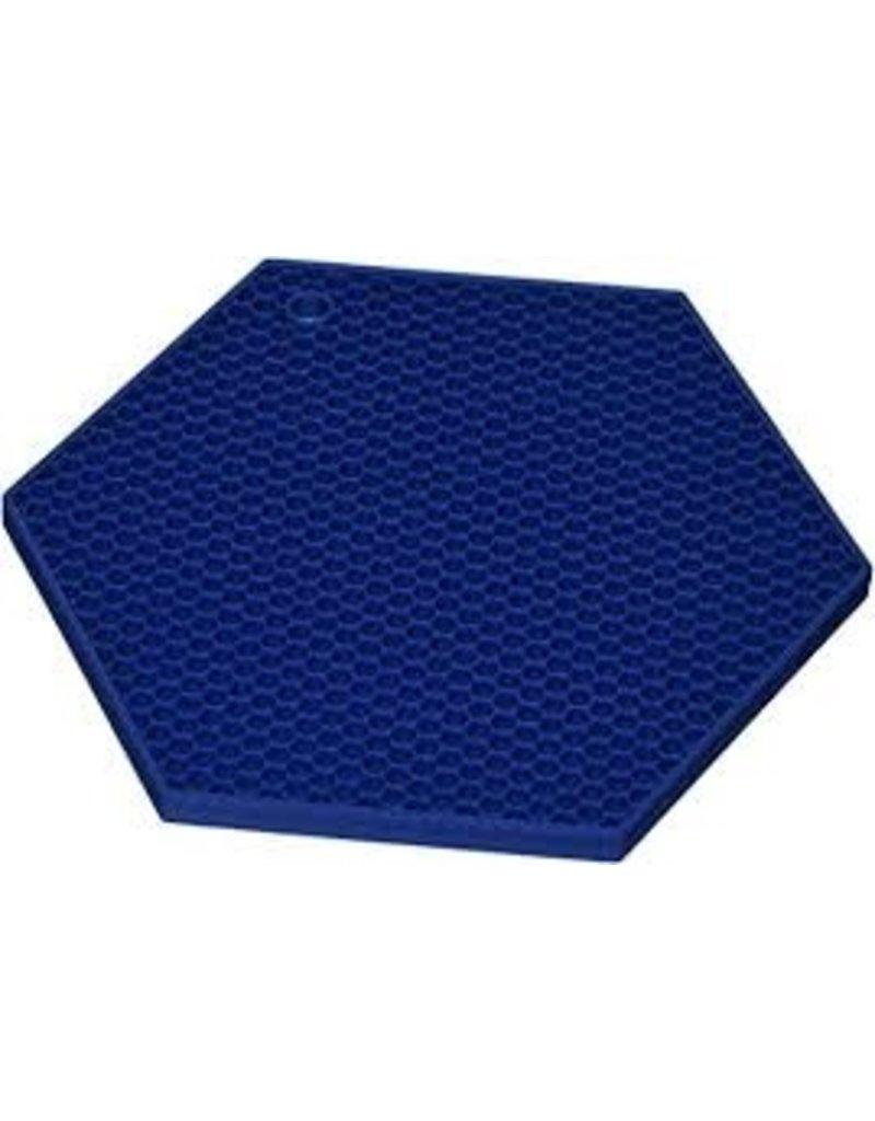 Lamson HOTSPOT Honeycomb Silicone Trivet, Marine