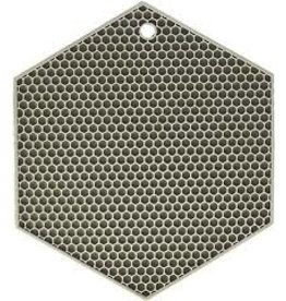 Lamson HOTSPOT Honeycomb Silicone Trivet, Gray