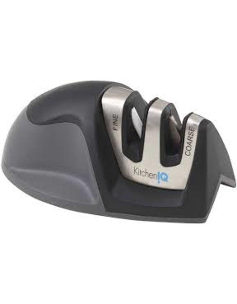 Edge Grip Counter Mini Knife Sharpener, Black