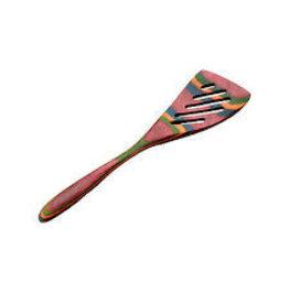Island Bamboo/Wilshire Rainbow Pakka MINI Slotted Spatula Turner
