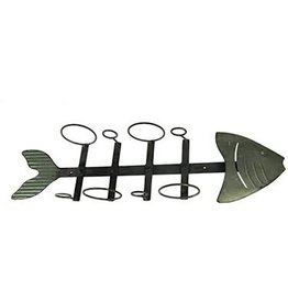 Fish Bone Wine Holder, Tin