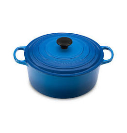 Le Creuset Enameled Cast Iron Signature Round Dutch Oven 5.5qt Marseille ciw