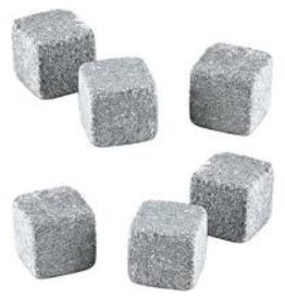 True Brands Glacier Rocks Soapstone Cubes Set of 6