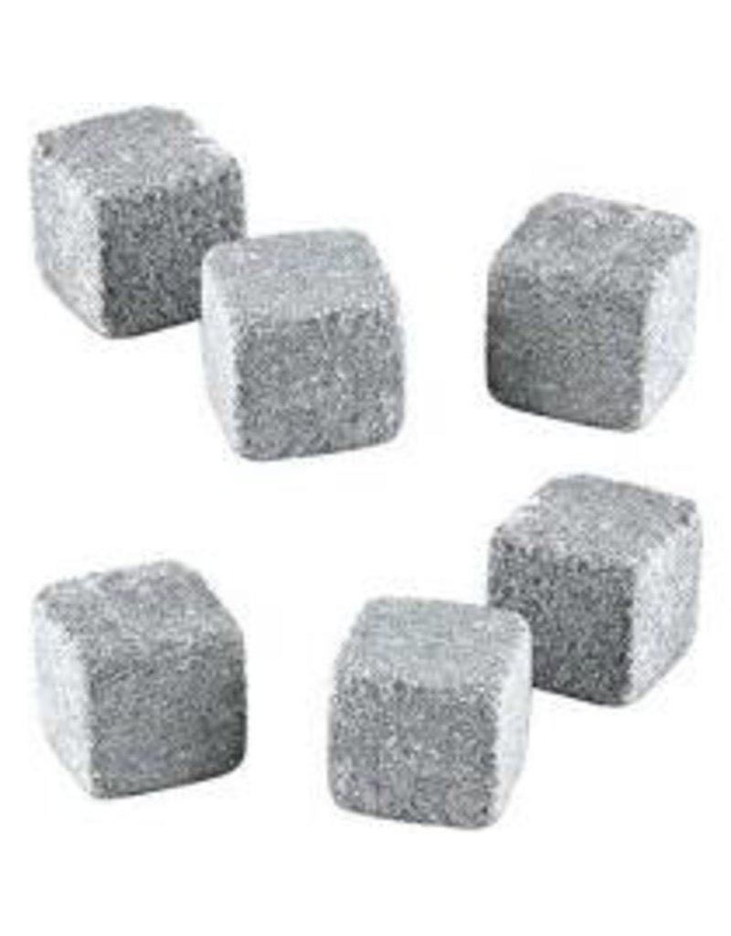 True Brands Glacier Rocks Soapstone Cubes Set of 6