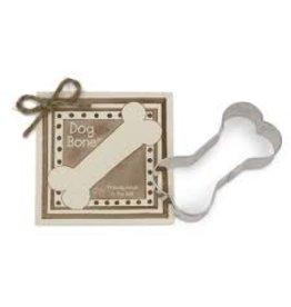 Ann Clark Cookie Cutter Dog Bone with Recipe Card, TRAD