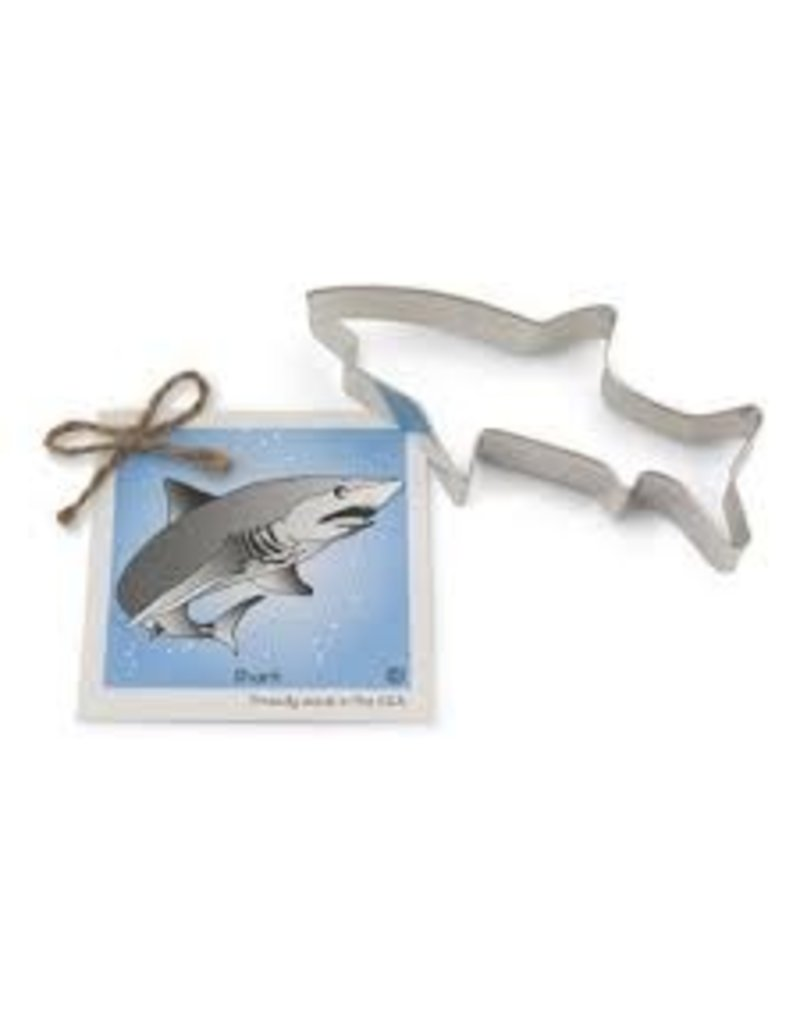 Ann Clark Cookie Cutter Shark with Recipe Card, TRAD