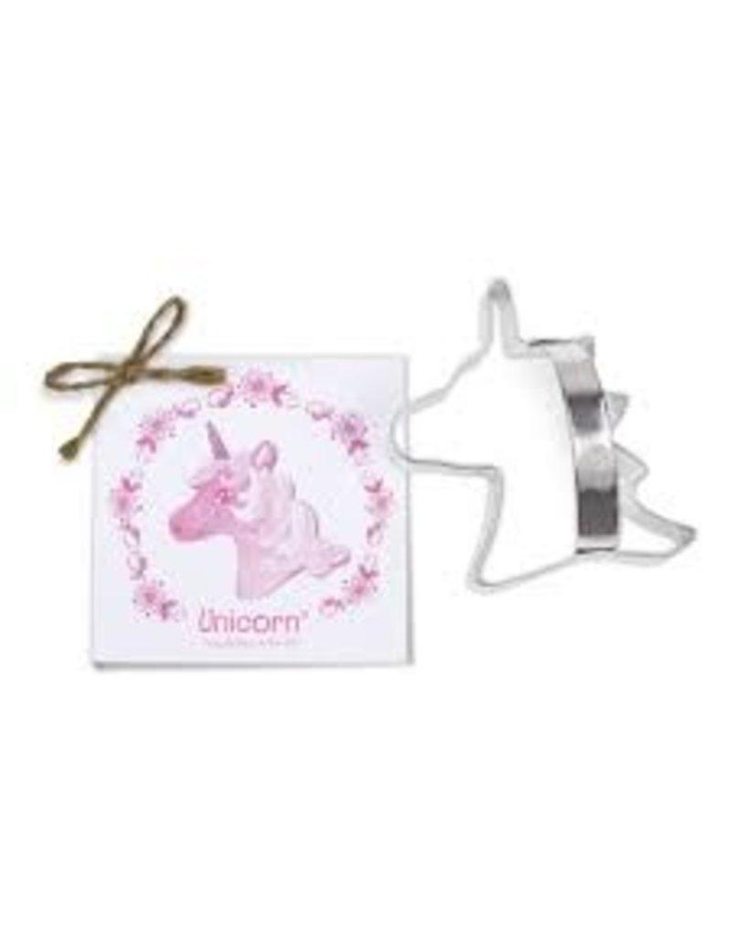 Ann Clark Cookie Cutter Unicorn Head with Recipe Card, TRAD