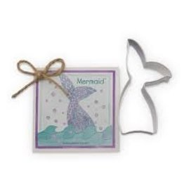 Ann Clark Cookie Cutter Mermaid with Recipe Card, TRAD