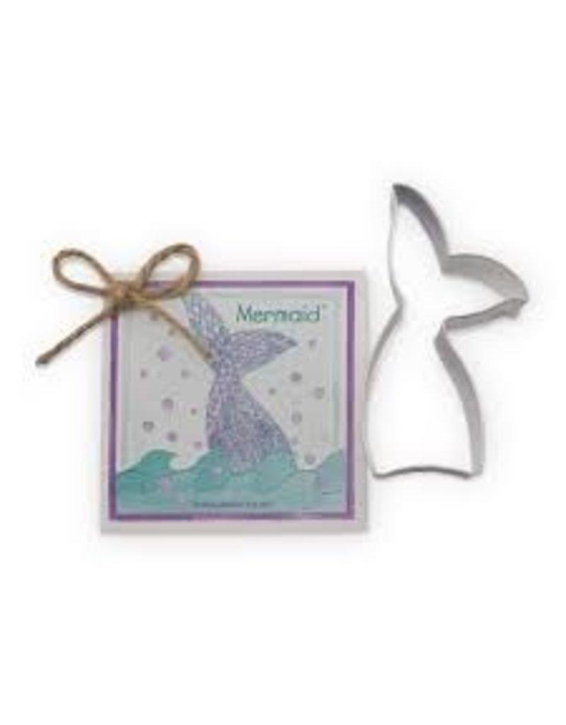 Ann Clark Cookie Cutter Mermaid with Recipe Card, TRAD