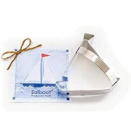 Ann Clark Cookie Cutter Sailboat with Recipe Card, TRAD