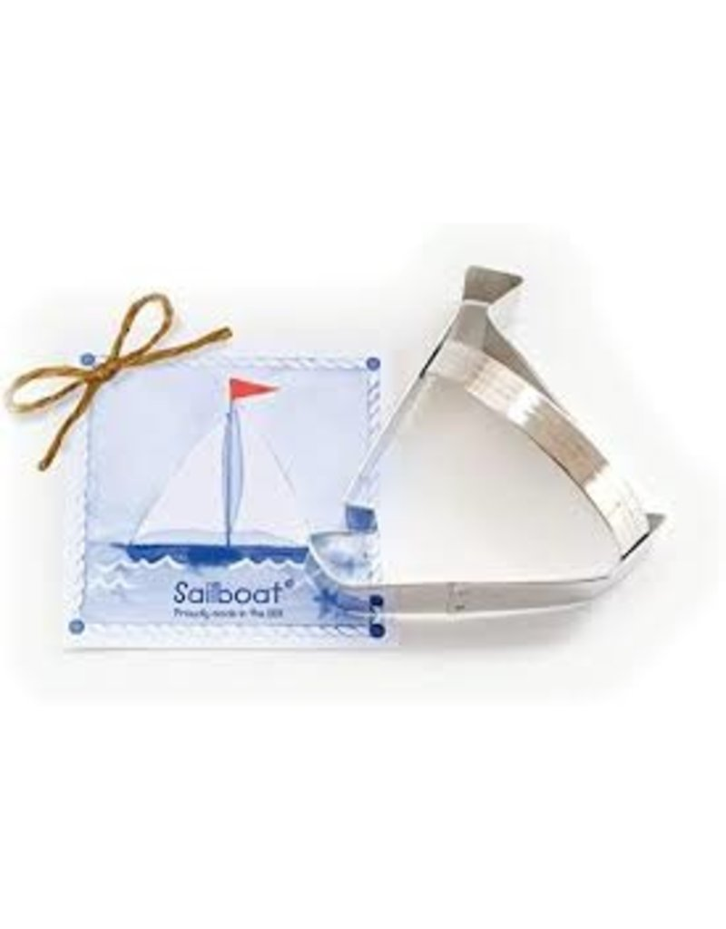 Ann Clark Cookie Cutter Sailboat with Recipe Card, TRAD