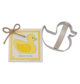 Ann Clark Cookie Cutter Rubber Ducky with Recipe Card, TRAD